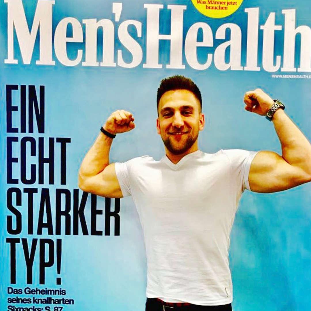 Men's Health auf der Fibo mit everfits Trainer Gojko.