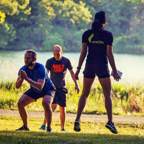everfits Outdoor Training ist effektiv durch die Kombination aus Ausdauer- und Krafttraining