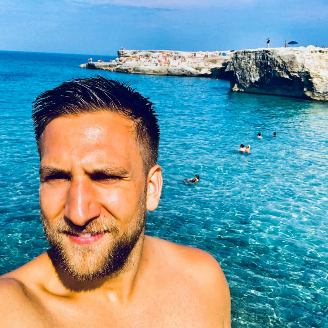 Urlaub in Italien.