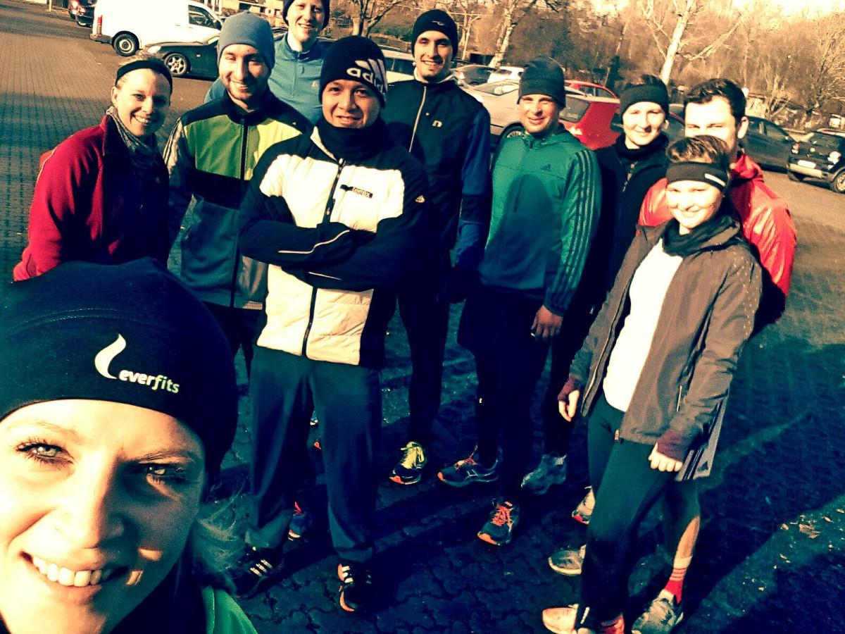 Outdoor Training in der Gruppe in Nürnberg