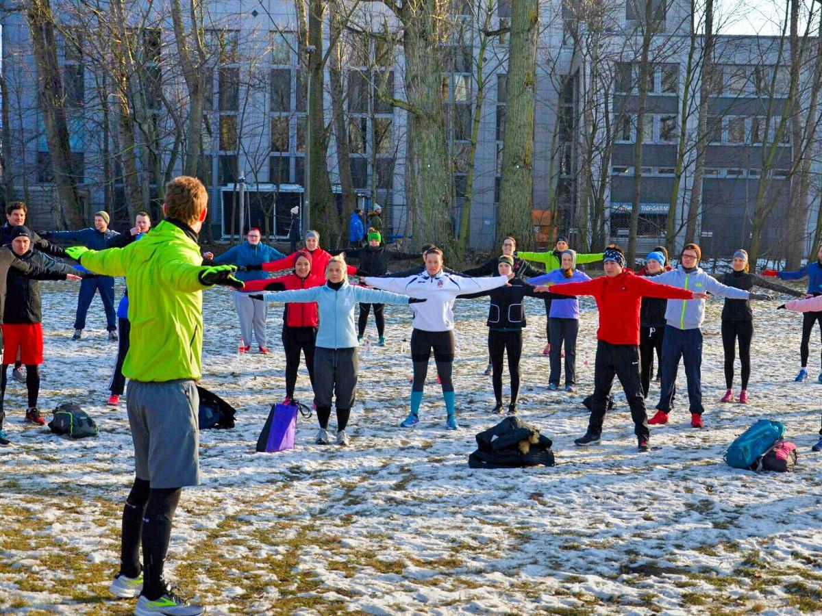 Outdoor Fitness Schnuppertraining Nürnberg
