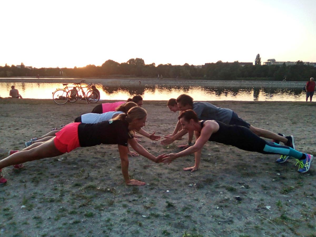 Outdoor Gruppen Training Nürnberg