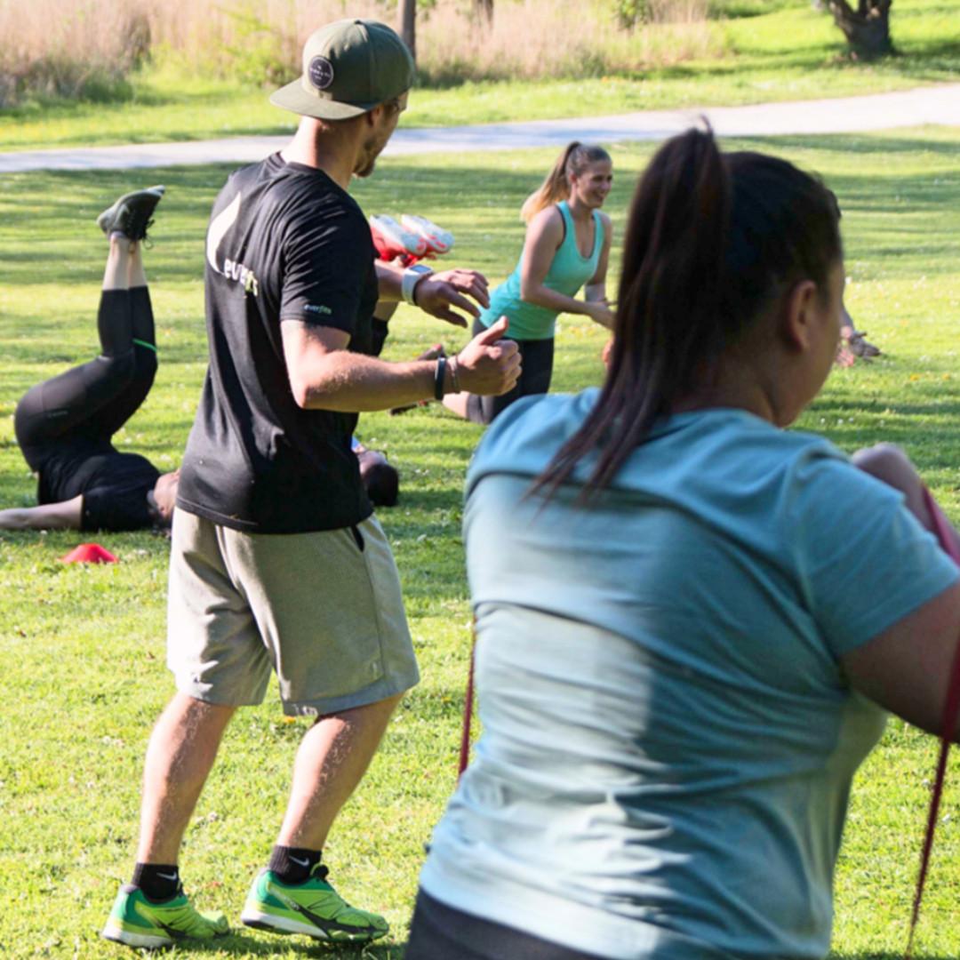Effektiv trainieren im Outdoor Gym