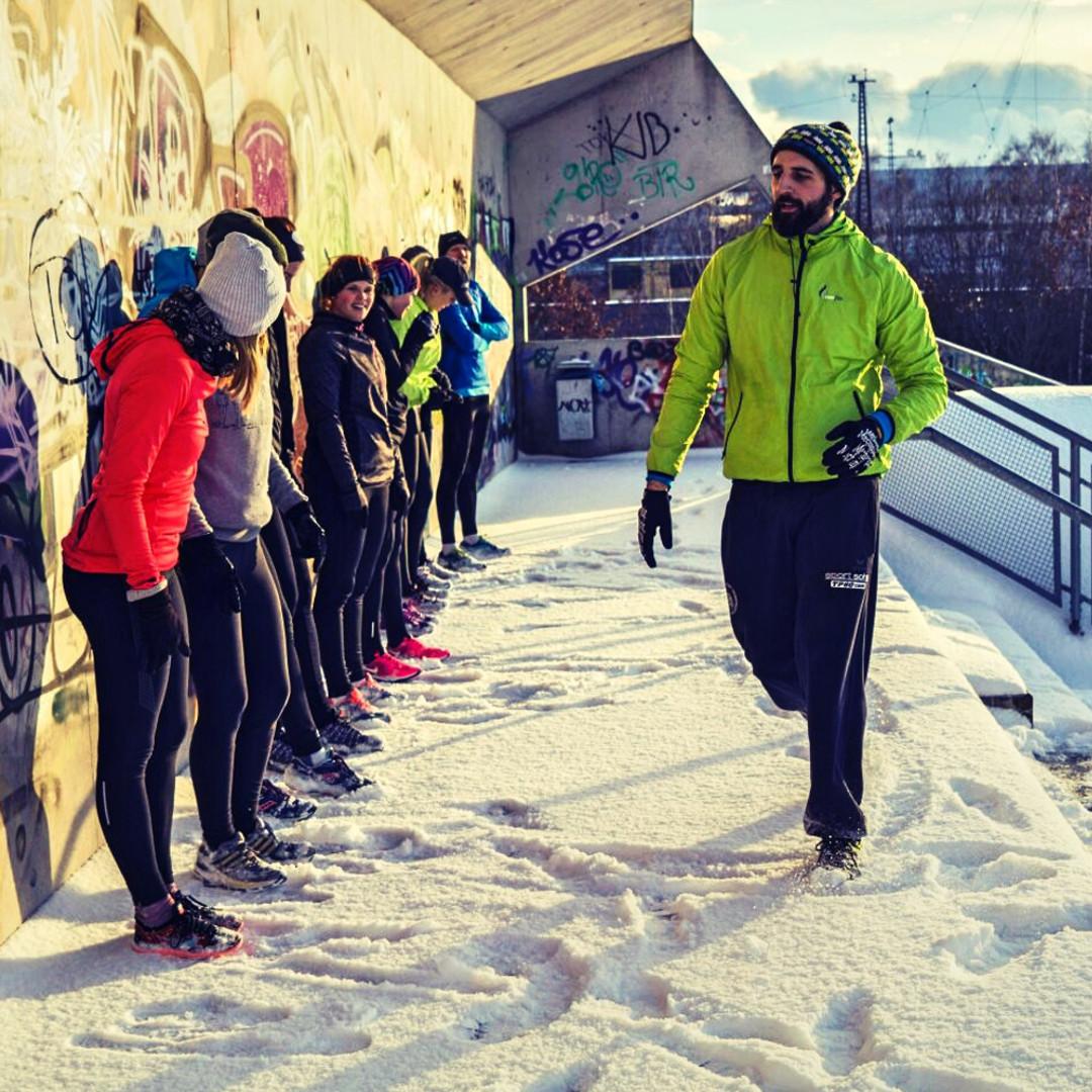 Outdoor Training München im Hirschgarten Park